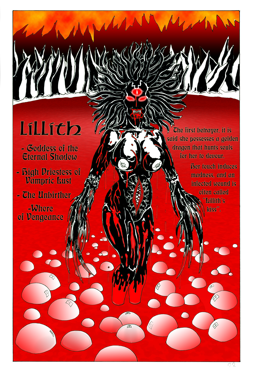 The Throne of Lillith Legend - Part Three of Six